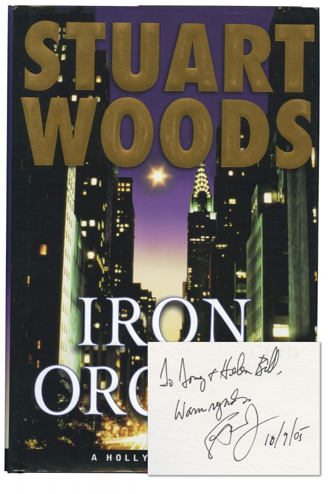 Iron Orchid Stuart Woods First Edition