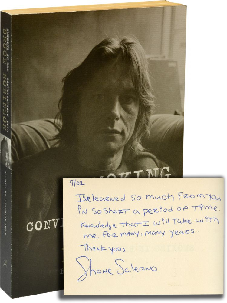Smoking in Bed: Conversations with Bruce Robinson. Bruce Robinson, Alistair Owen.