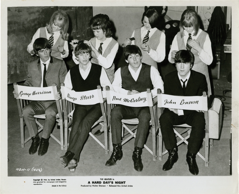 A Hard Day's Night. Richard Lester, The Beatles, director, starring.