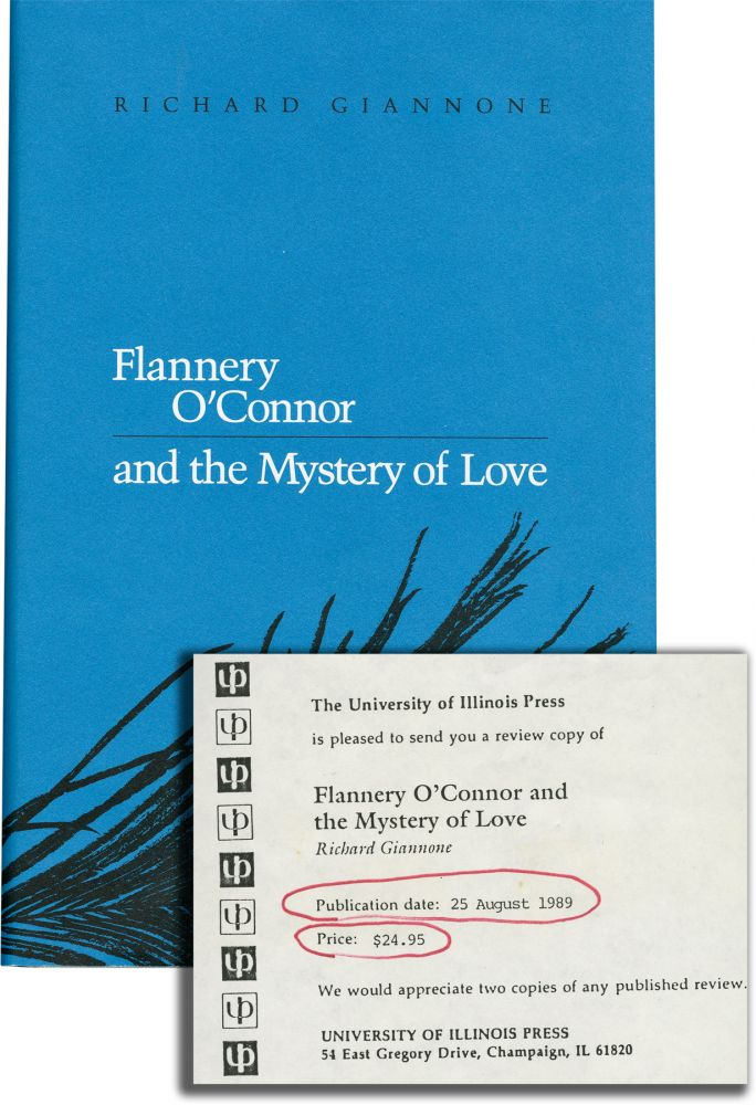 Flannery O'Connor and the Mystery of Love. Richard Giannone.