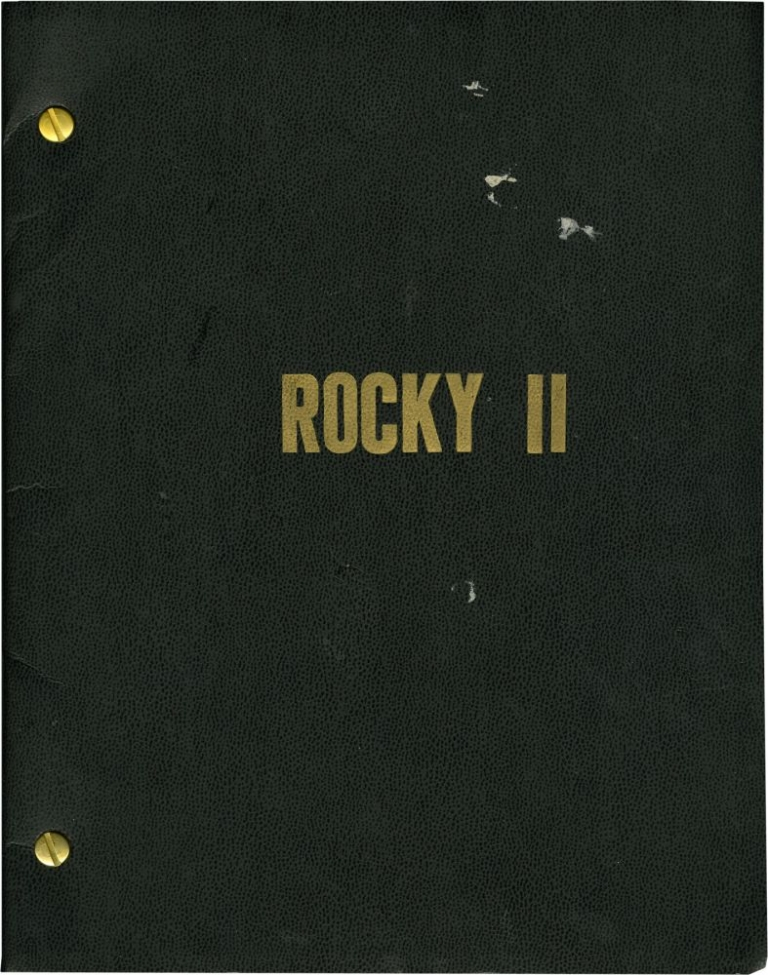 Rocky II. Sylvester Stallone, Talia Shire Carl Weathers, Burgess Meredith, screenwriter director, starring, starring.