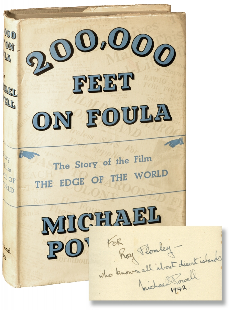 200,000 Feet on Foula [The Edge of the World]. Michael Powell.