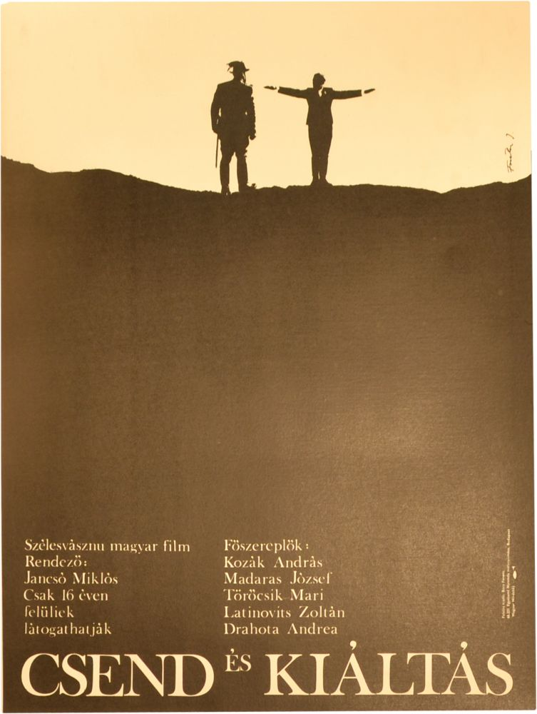 Silence and Cry [Csend es kialtas]. Miklos Jancso, director.