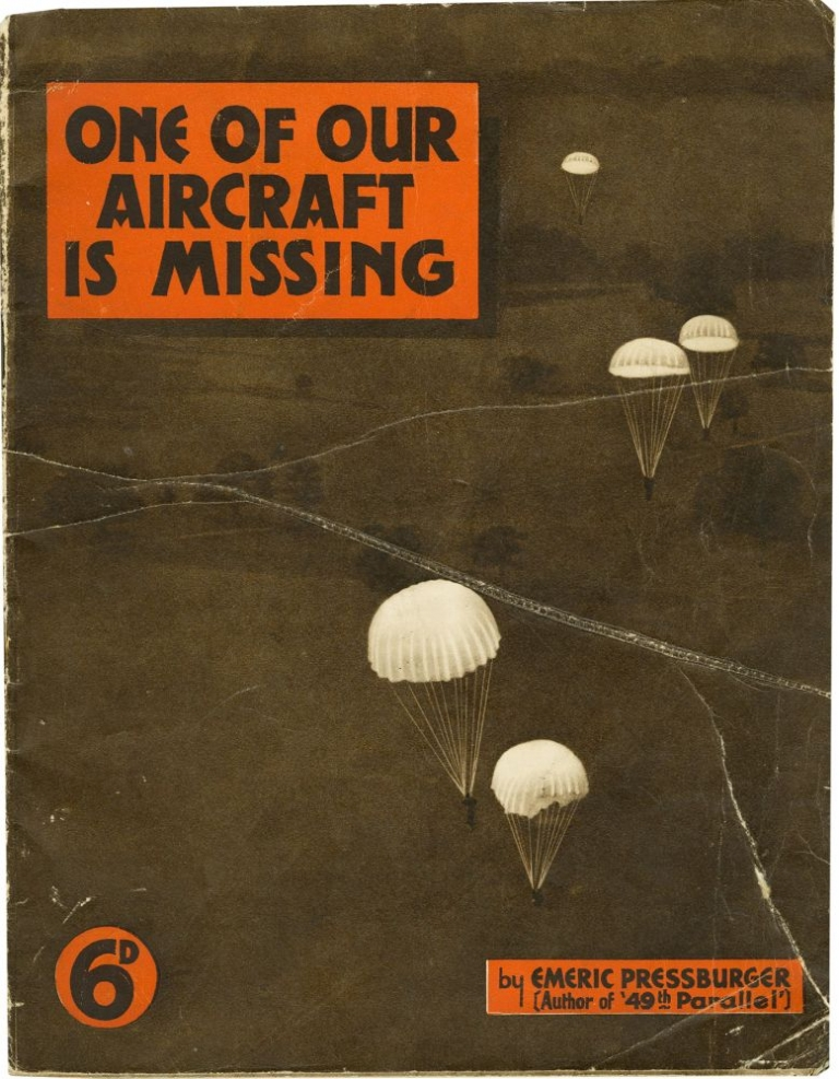One of Our Aircraft is Missing. Michael Powell, Emeric Pressburger, Sir George Corbett, Godfrey Tearle Bernard Miles, Joyce Redman, Eric Portman, Peter Ustinov, screenwriters directors, narrative, starring.