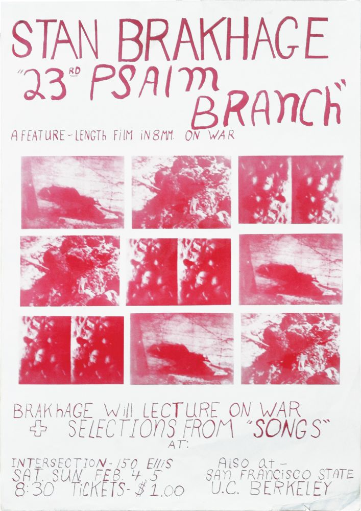 23rd Psalm Branch: A Feature-Length Film in 8mm on War. Stan Brakhage.