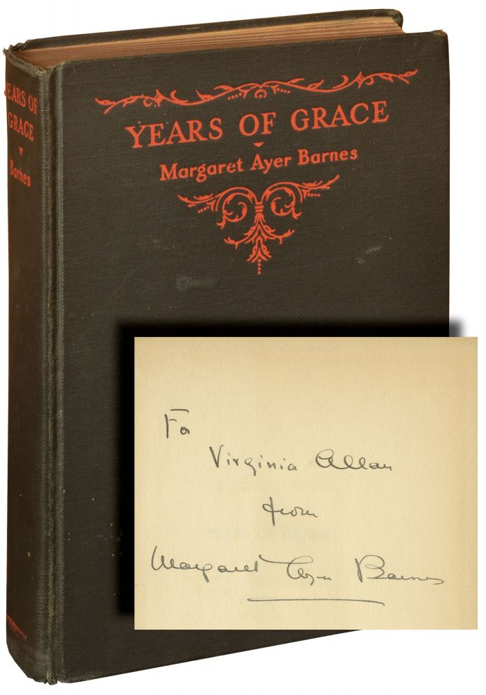 Years of Grace. Margaret Ayer Barnes.