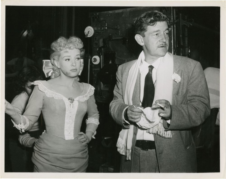 The Beautiful Blonde from Bashful Bend. Preston Sturges, Betty Grable, director, starring.