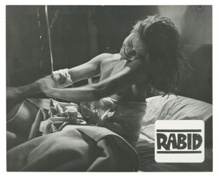 Rabid. David Cronenberg, Marilyn Chambers, director, starring.