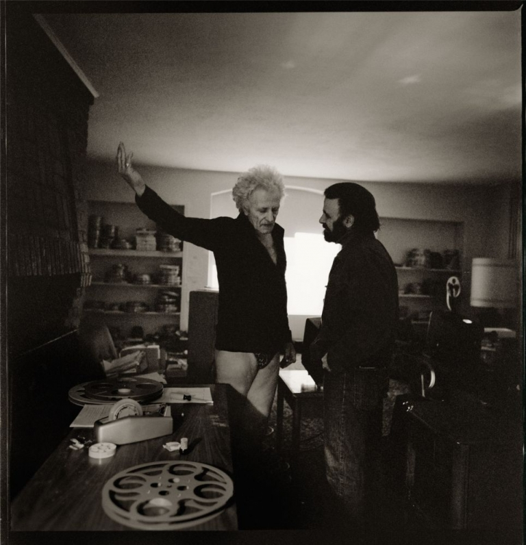 Nicholas Ray at the Chateau Marmont: We Can't Go Home Again. Andy Romanoff, Nicholas Ray, photographer, subject.