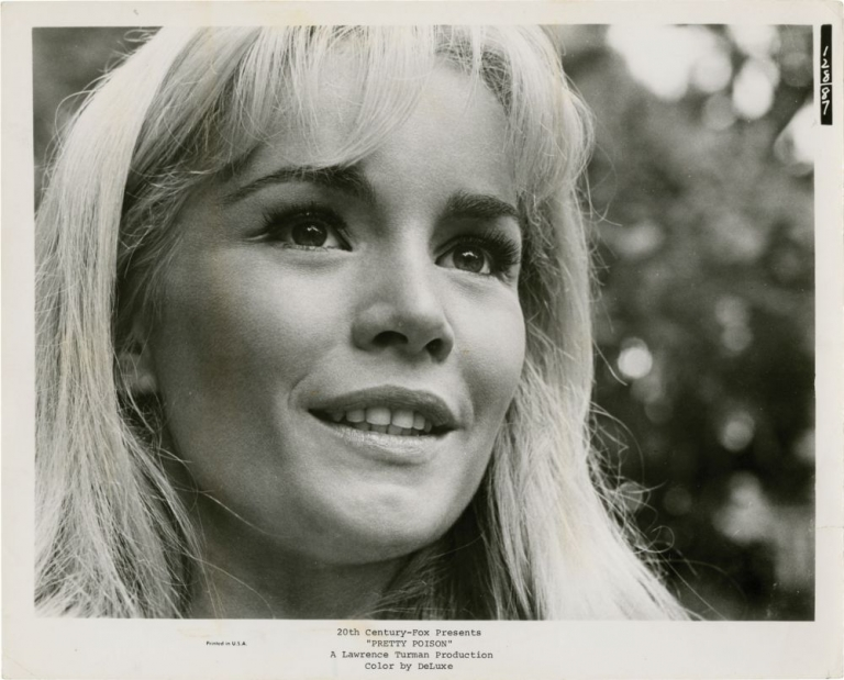 Pretty Poison. Noel Black, Tuesday Weld Anthony Perkins, director, starring.