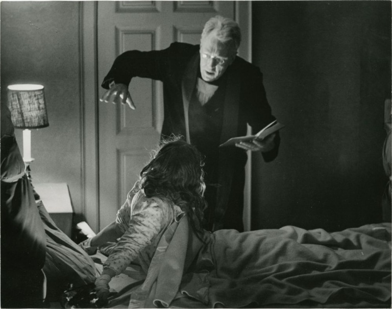 The Exorcist. William Friedkin, William Peter Blatty, Josh Weiner l., director, screenwriter novel, still photographer.
