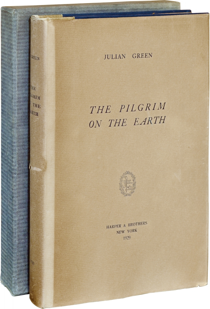 The Pilgrim on the Earth. Julian Green, Rene Ben Susan, engravings.