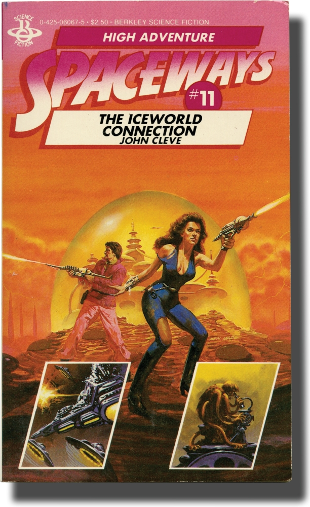 Spaceways: Volume 11 - The Iceworld Connection. Andrew J. Offutt, John Cleve.