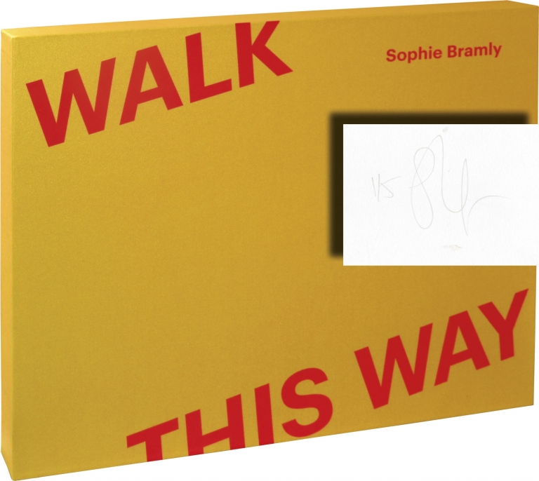Walk This Way. Sophie Bramly, photographer, Julien Frydman, Cleo Charuet, designer.