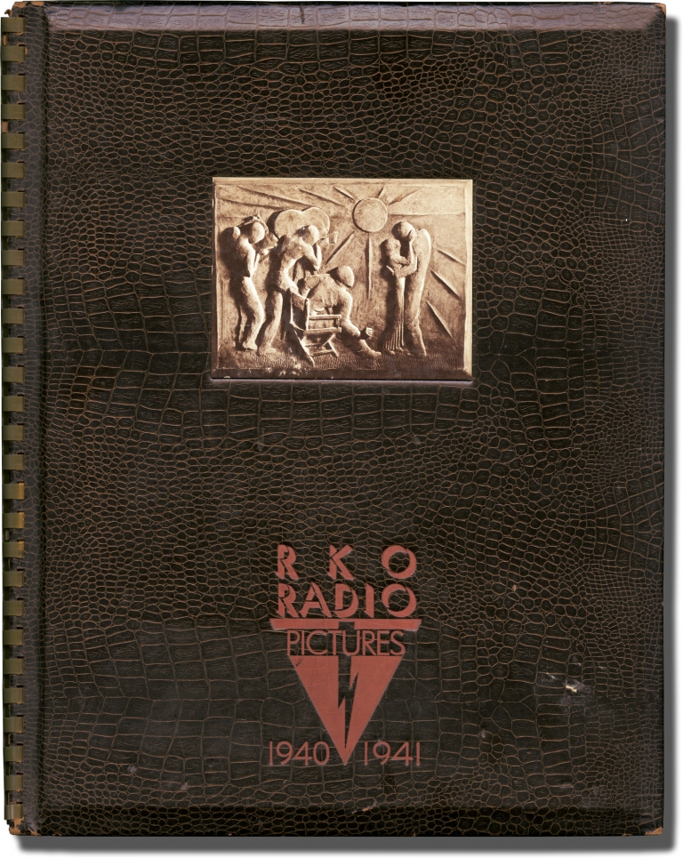 RKO Radio Pictures 1940-1941 Annual. Film Studio Annuals, Orson Welles, Louisa May Alcott Theodore Dreiser, Christopher Morley, Cary Grant Ginger Rogers, Anna Neagle, Carole Lombard, Charles Laughton, Ronald Colman, Charles Boyer, Jean Arthur, director, authors, stars.