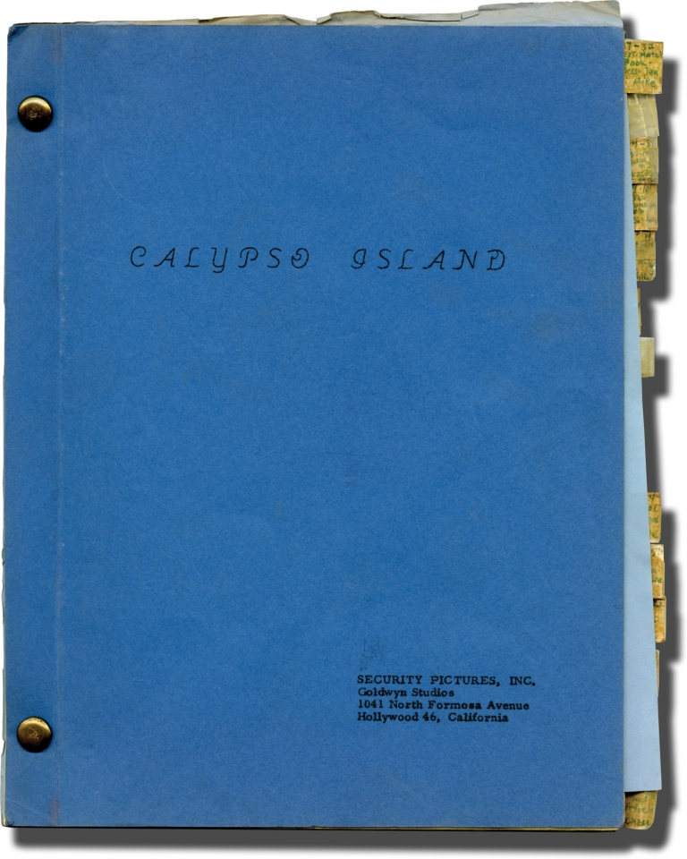 Island Women [Calypso Island]. William Berke, Philip Yordan Andrew Alexander, Vince Edwards Marie Windsor, Leslie Scott, Marilee Earle, producer director, screenwriters, starring.