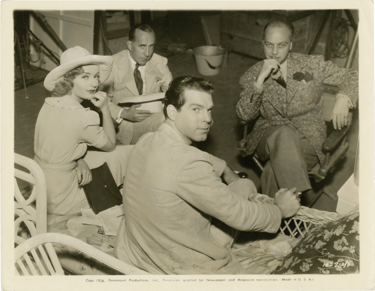 Swing High, Swing Low. Mitchell Leisen, Oscar Hammerstein II Virginia Van Upp, Arthur Hopkins George Manker Watters, Fred MacMurray Carole Lombard, Charles Butterworth, director, screenwriters, playwrights, starring.