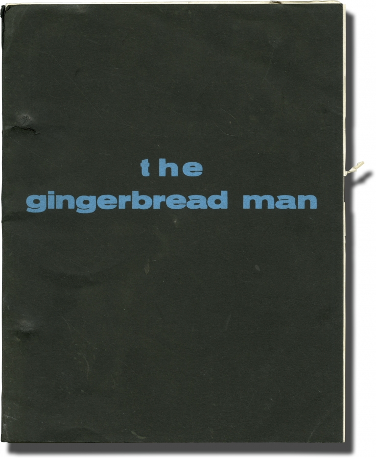 The Gingerbread Man. Dossia Mage, Bernard Revon, Richard Parker, screenwriters, novel.