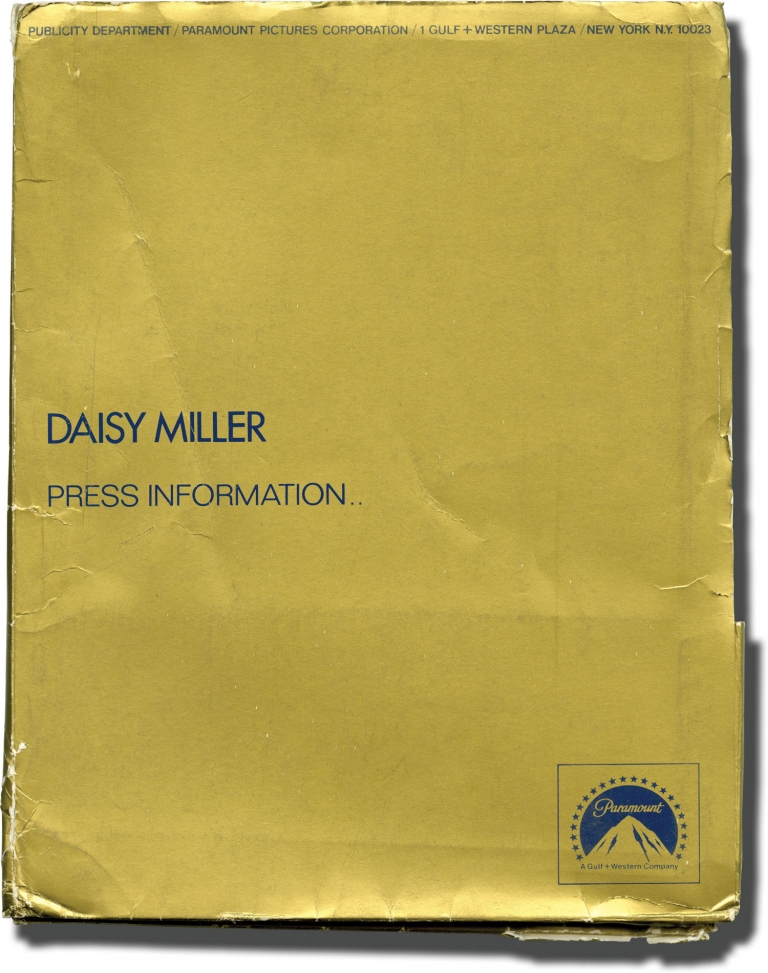 Daisy Miller. Peter Bogdanovich, Henry James, Frederic Raphael, Barry Brown Cybill Shepherd, Cloris Leachman, screenwriter director, story, screenwriter, starring.