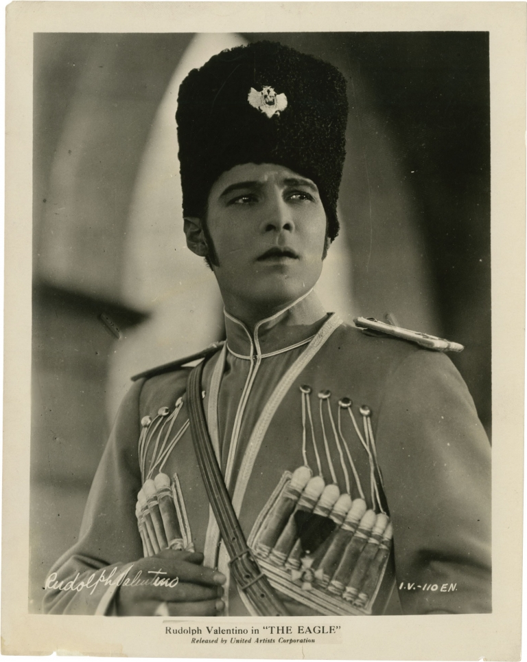 The Eagle. Clarence Brown, Alexander Pushkin, George Marion Hanns Kraly, Jr., Vilma Banky Rudolph Valentino, Albert Conti, Louise Dresser, director, story, screenwriters, starring.