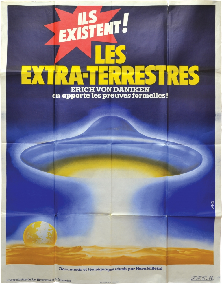Mysteries of the Gods [Les extra-terrestres]. Harald Reinl, Manfred Barthel, Robert Charroux William Shatner, Max H. Flindt, Jean Dizon, director, screenwriter, starring.