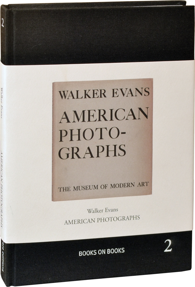 American Photographs. Walker Evans, Lincoln Kirstein, John T. Hill, essay, introduction.