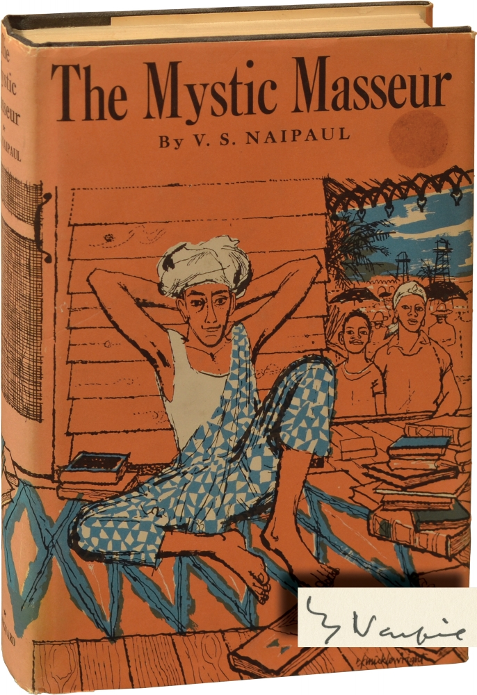 The Mystic Masseur. V. S. Naipaul.