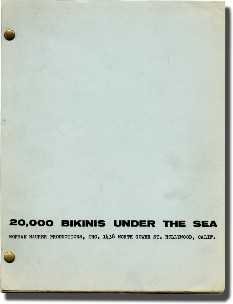 20,000 Bikinis Under the Sea. Norman Maurer, writer.