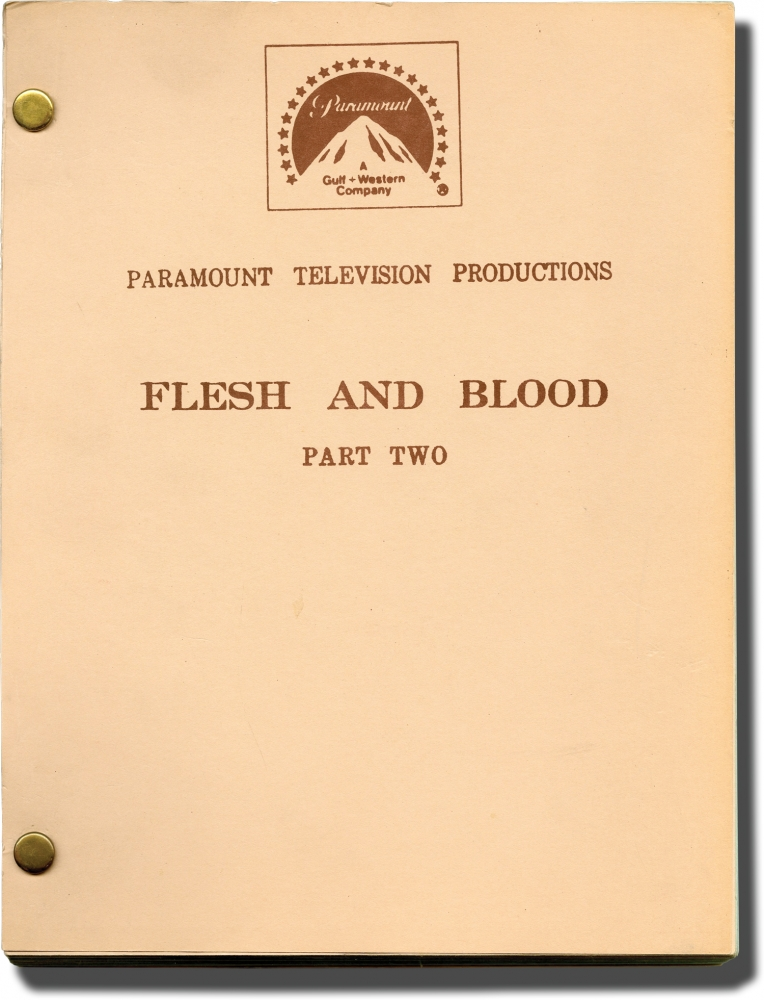 Flesh and Blood [Flesh and Blood: Part Two]. Jud Taylor, Eric Bercovici, Luca Bercovici Pete Hamill, Anthony Charnota, John Cassavetes, Tom Berenger, director, screenwriter, novelist, starring.