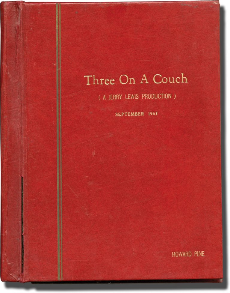 Three on a Couch. Jerry Lewis, starring director, Samuel A. Taylor Bob Ross, Marvin Worth, Arne Sultan, screenwriters, Mary Ann Mobley Janet Leigh, Gila Golan, starring.
