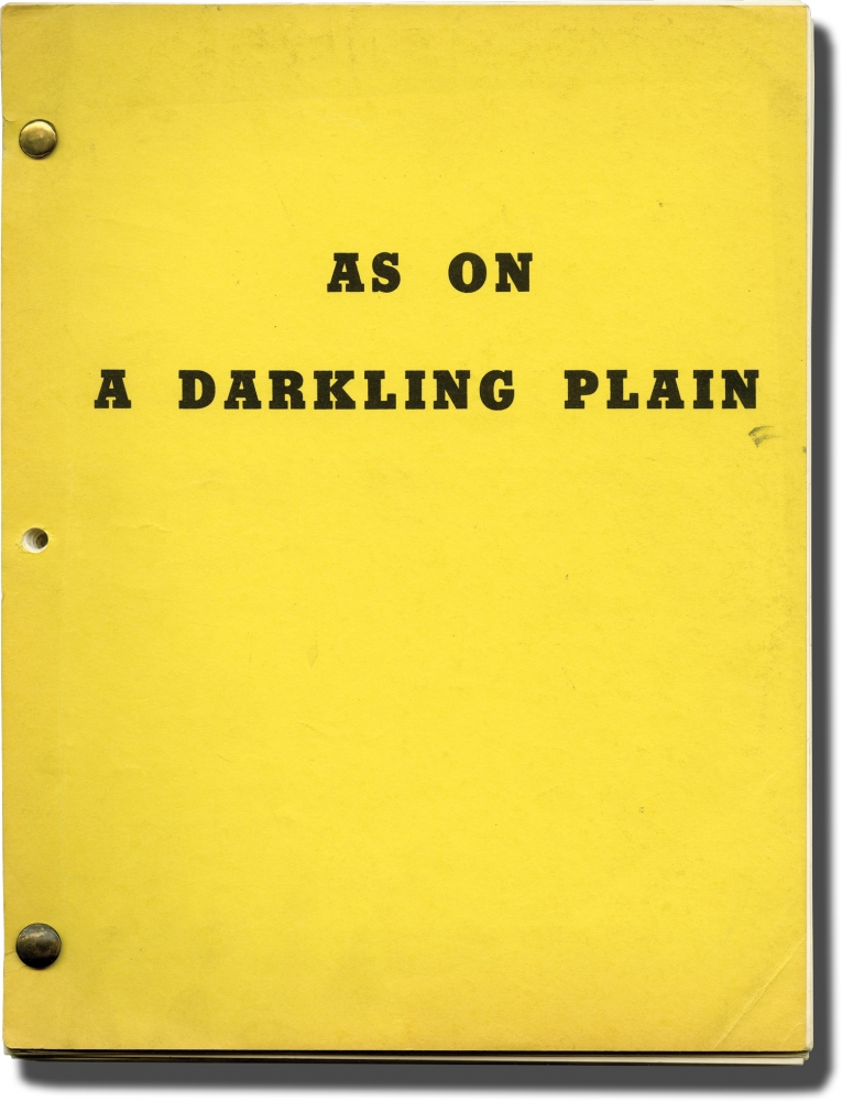 As on a Darkling Plain. John McLiam, screenwriter.
