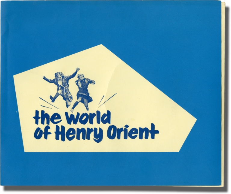 "1964 Cannes Film Festival promotional folder and program for The World of Henry Orient, including programs for Black God, White Devil, The Price of Victory, Li mali mestieri, and ""1, 2, 3..."" Cannes Film Festival, Gianfranco Mingozzi George Roy Hill, Gyula Macskassy, Nobuko Shibuya Gyorgy Varnai, Glauber Rocha, directors."