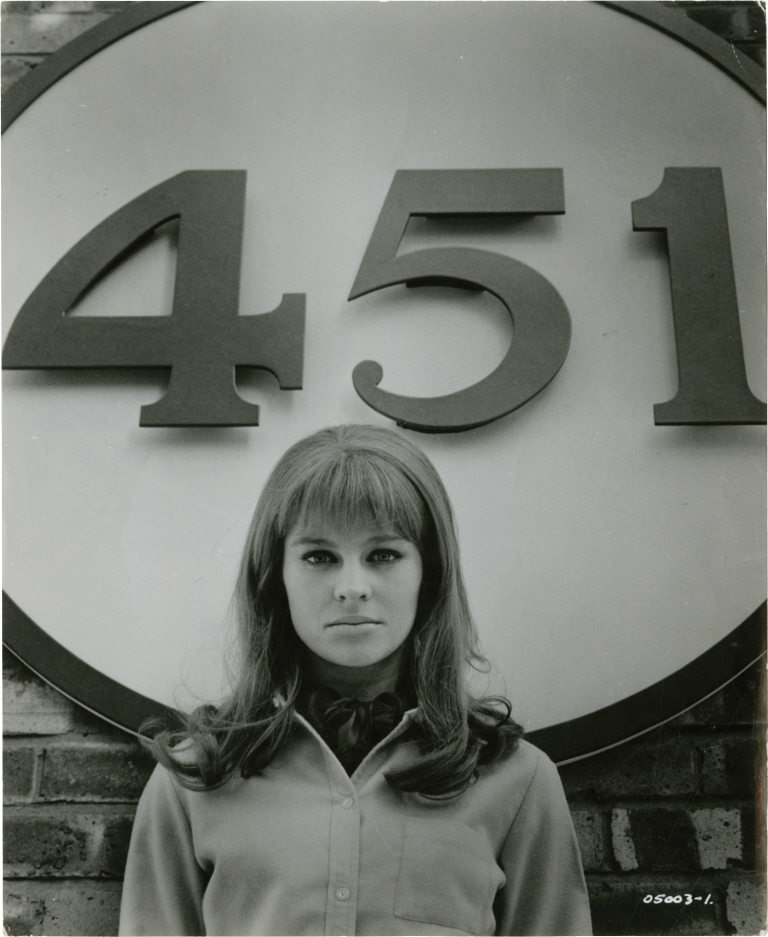 Fahrenheit 451. Francois Truffaut, Ray Bradbury, Julie Christie Oskar Werner, director, novel, starring.