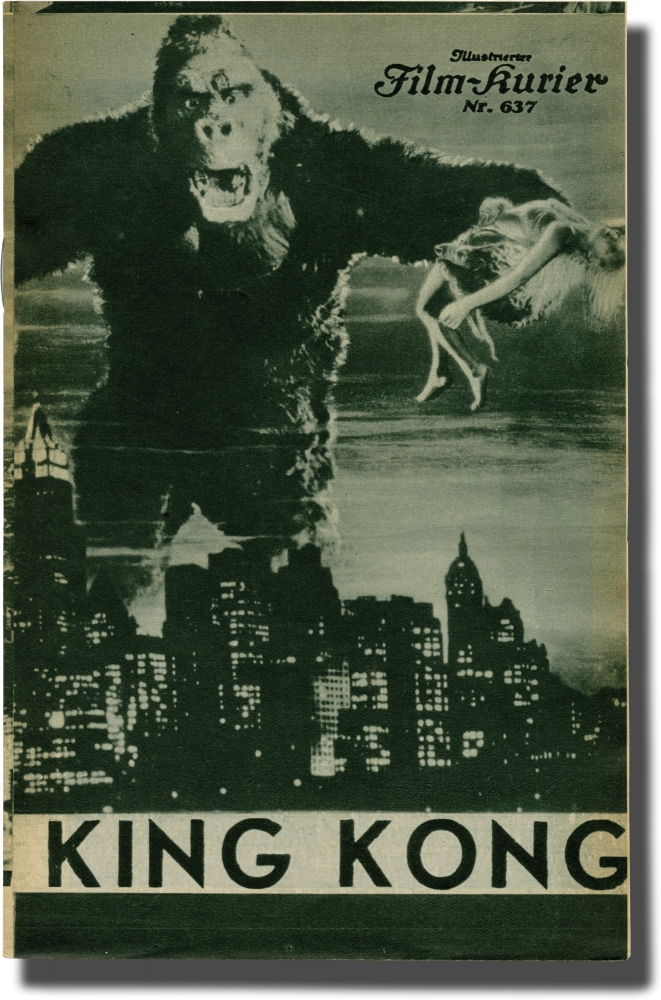 King Kong. Merian C. Cooper, Ernest B. Schoedsack, Ruth Rose James Ashmore Creelman, Edgar Wallace, Robert Armstrong Fay Wray, King Kong, Bruce Cabot, directors, screenwriters, starring.