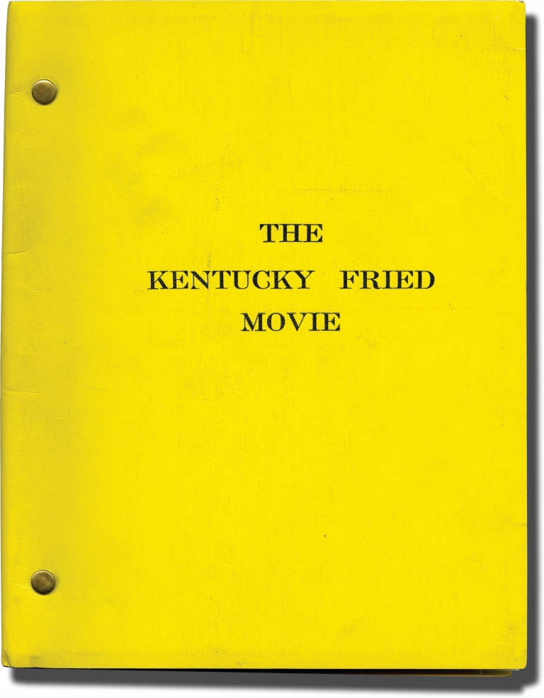 The Kentucky Fried Movie. John Landis, Jim Abrahams David Zucker, Jerry Zucker, Tina Louise Donald Sutherland, Bill Bixby, Henry Gibson, starring director, starring screenwriters, starring.