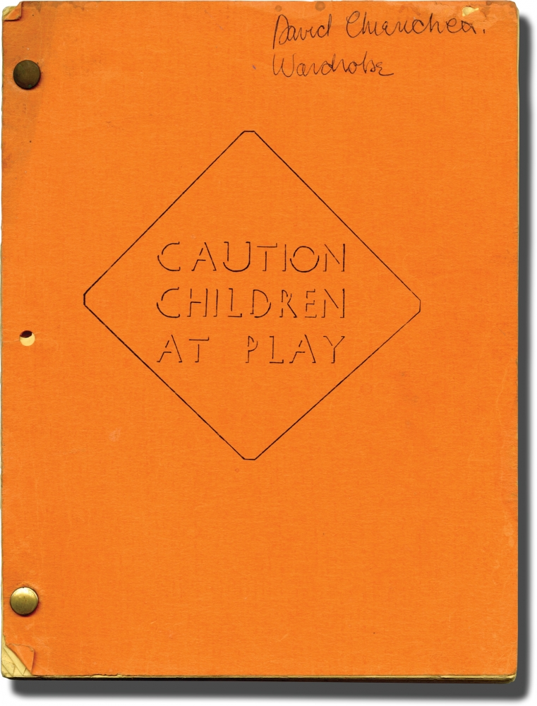 Kiss Daddy Goodbye [Caution, Children at Play]. Patrick Regan, Ronald Abrams Alain Silver, Mary Stewart, Marilyn Burns Fabian, screenwriter director, screenwriters, starring.