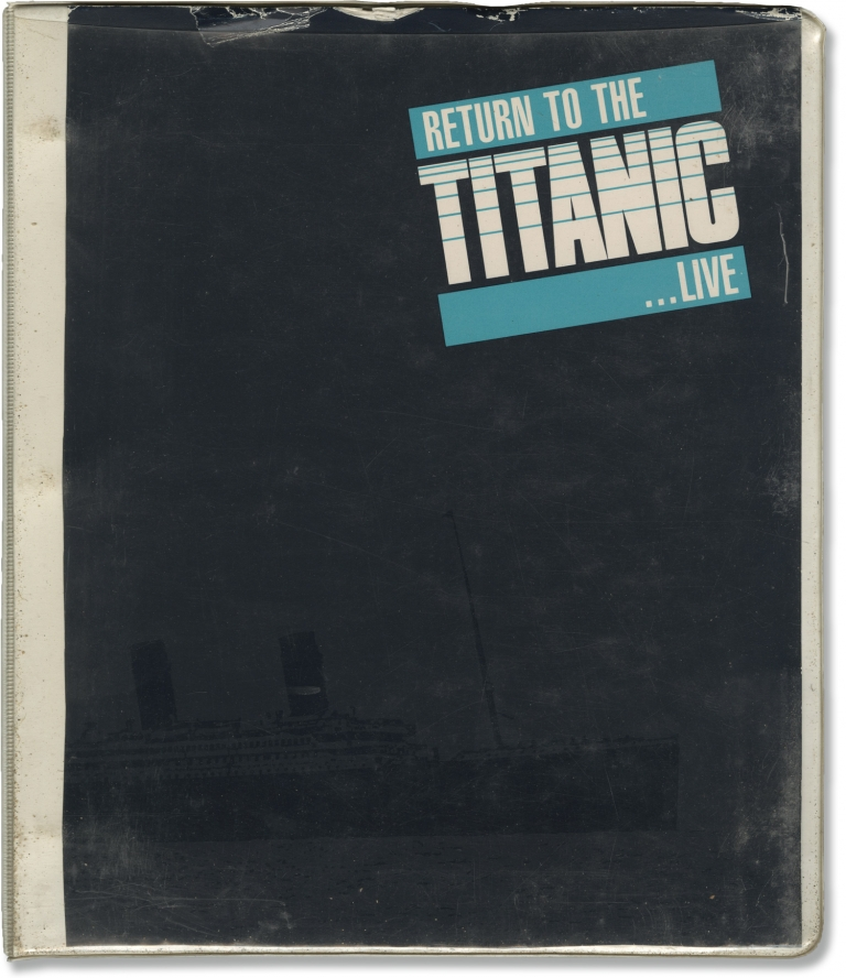 Return to the Titanic -- Live. Louis J. Horvitz, Telly Savalas, John Gilligan, director, narration host, screenwriter.