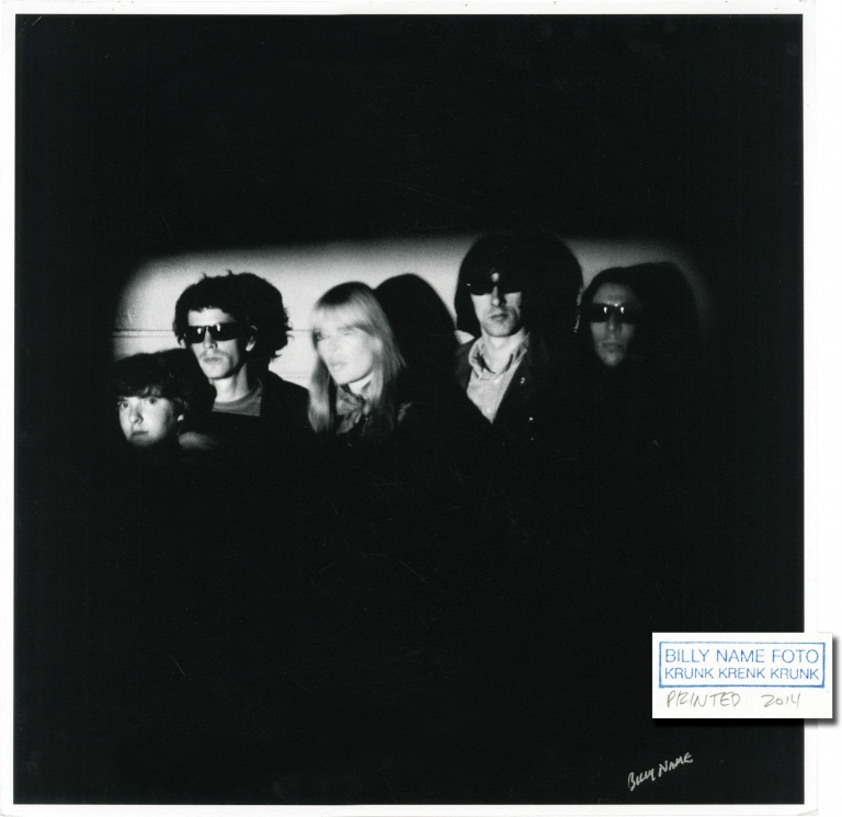 Original photograph of The Velvet Underground and Nico. The Velvet Underground, Billy Name.