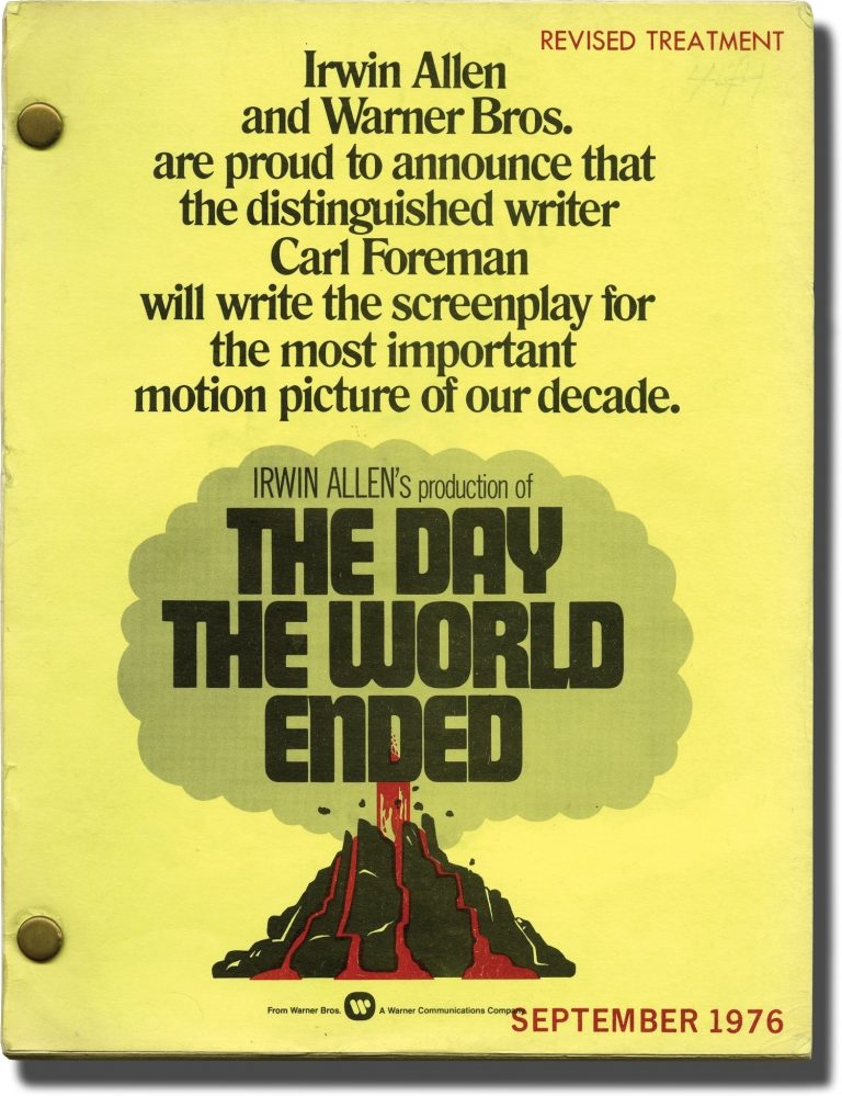 When Time Ran Out [The Day the World Ended]. James Goldstone, Stirling Silliphant Carl Foreman, Max Morgan Witts Gordon Thomas, Jacqueline Bisset Paul Newman, William Holden, director, screenwriter, novel, starring.