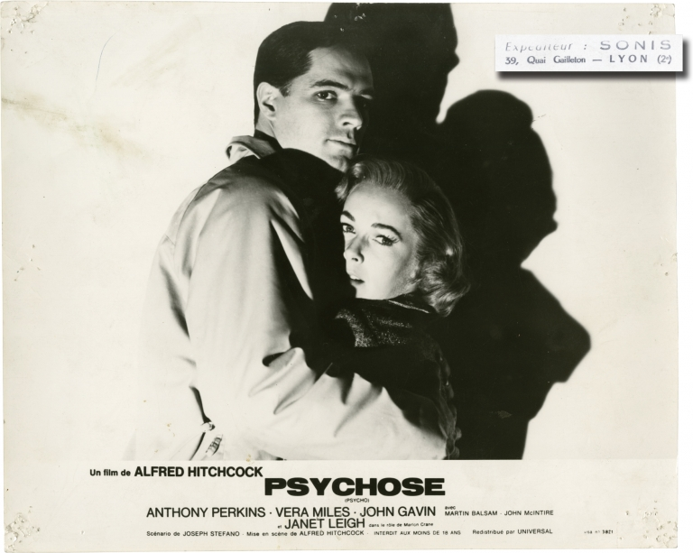 Psycho. Alfred Hitchcock, Robert Bloch, Joseph Stefano, Janet Leigh Anthony Perkins, director, novel, screenwriter, starring.