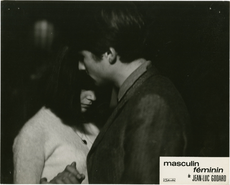 Masculin feminin. Jean-Luc Godard, Guy de Maupassant, Chantal Goya Jean-Pierre Leaud, Marlene Jobert, screenwriter director, short stories, starring.