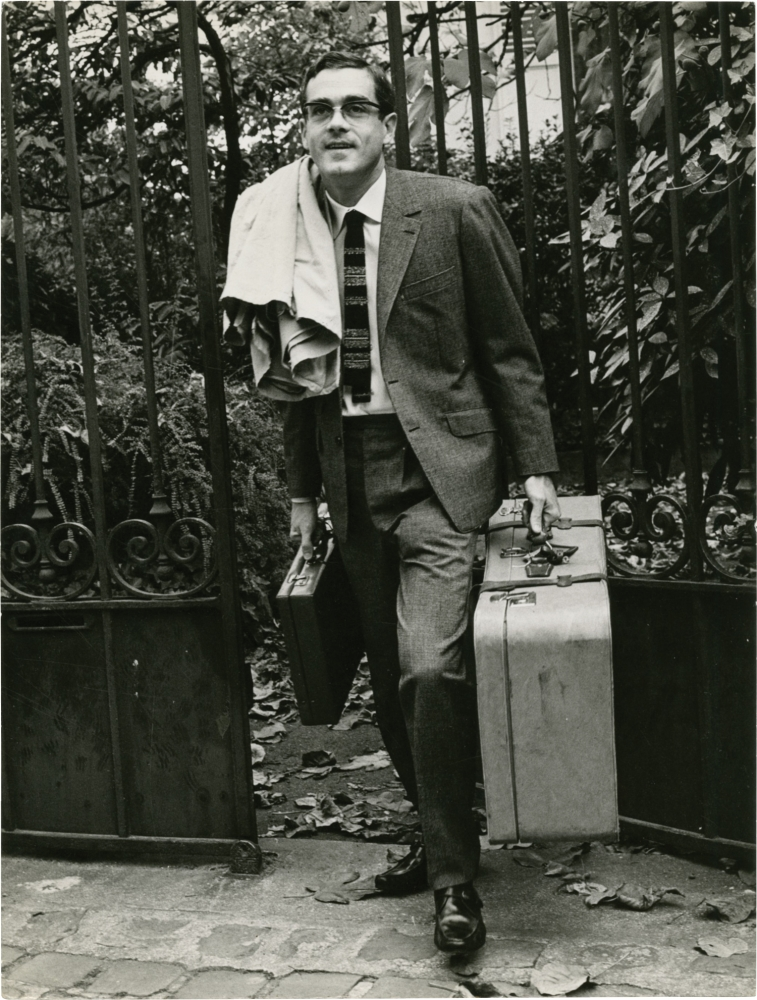 Original photograph of Michel Legrand, circa 1960s. Michel Legrand, subject.