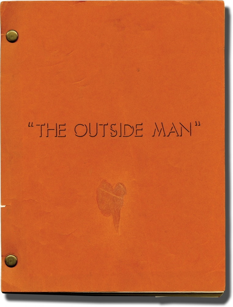 The Outside Man [Une homme est mort]. Jacques Deray, Ian McLellan Hunter Jean Claude Carriere, Ann-Margret Jean-Louis Trintignant, Angie Dickinson, Roy Scheider, director, screenwriters, starring.