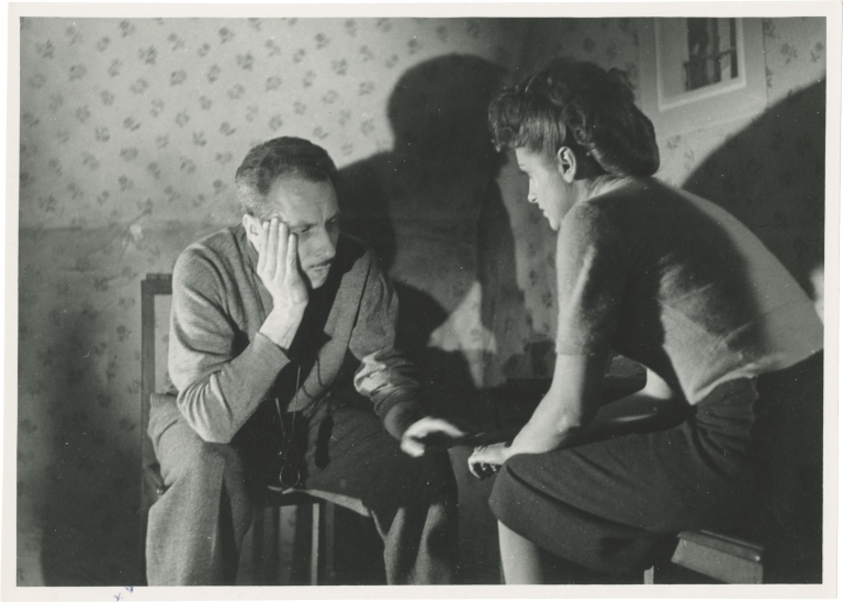 Antoine and Antoinette. Jacques Becker, Francoise Giroud Maurice Griffe, Claire Maffei Roger Pigaut, Gaston Modot, Noel Roquevert, screenwriter director, screenwriters, starring.