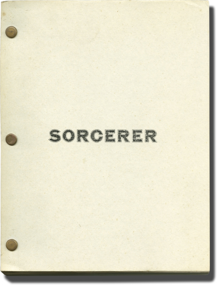 Sorcerer. Friedkin William, Walon Green, Georges Arnaud, producer director, screenwriter, novel.