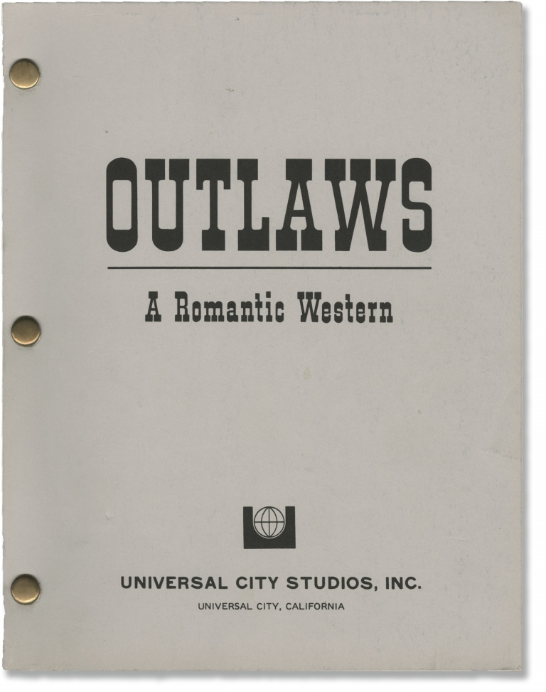 Outlaws. Peter Werner, Nicholas Corea, Richard Roundtree Rod Taylor, Charles Napier, director, producer screenwriter, starring.
