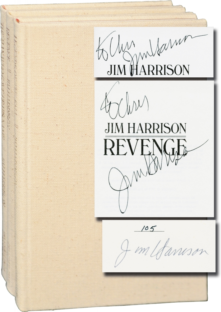 Legends of the Fall, The Man Who Gave Up His Name, and Revenge. Jim Harrison.