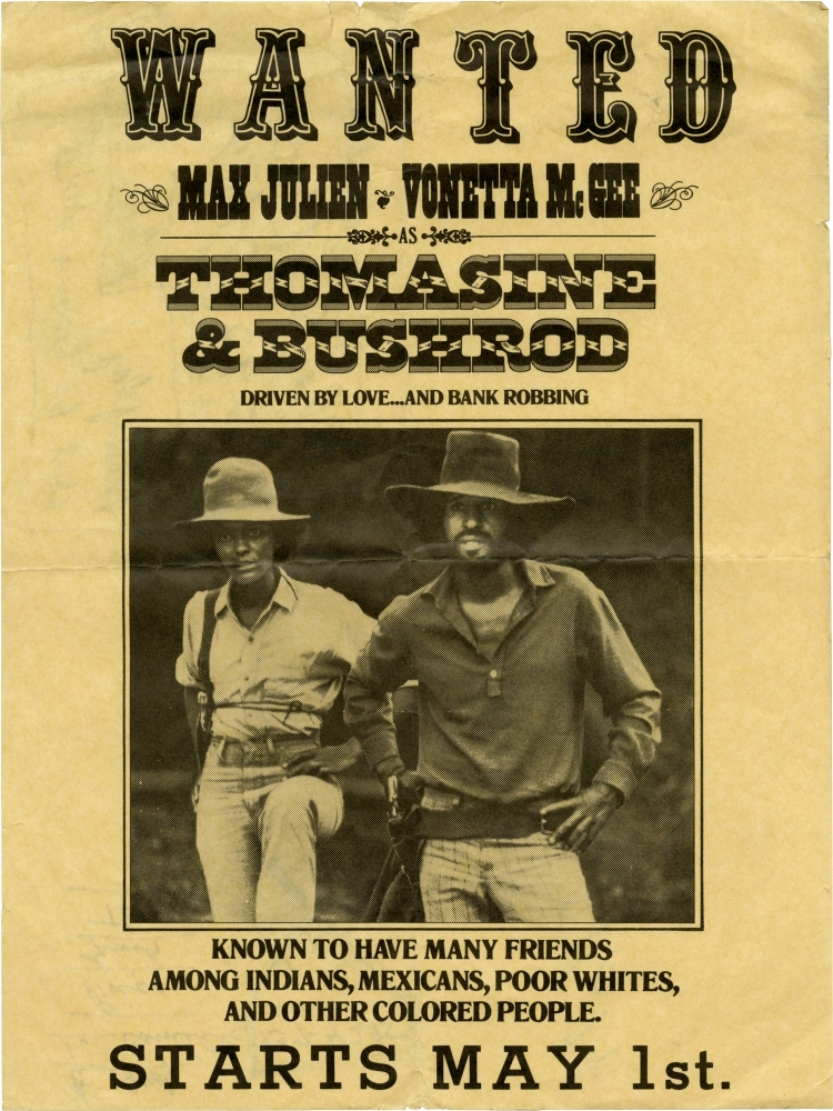 Thomasine and Bushrod. Gordon Parks Jr., Max Julien, Vonetta McGee Max Julien, George Murdock, director, screenwriter, starring.