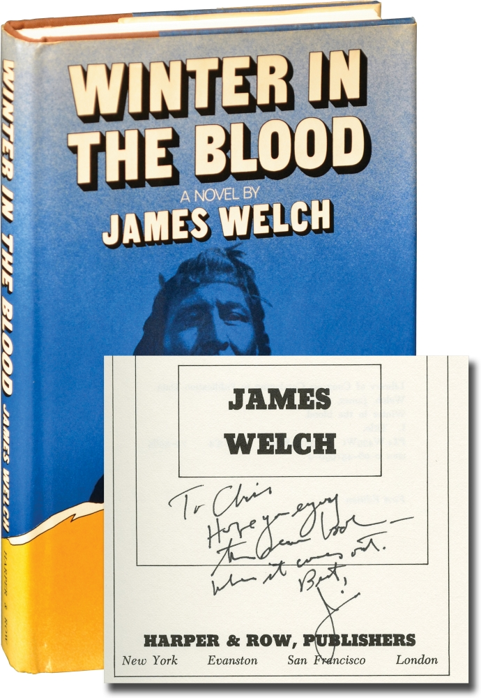 Winter in the Blood. James Welch.