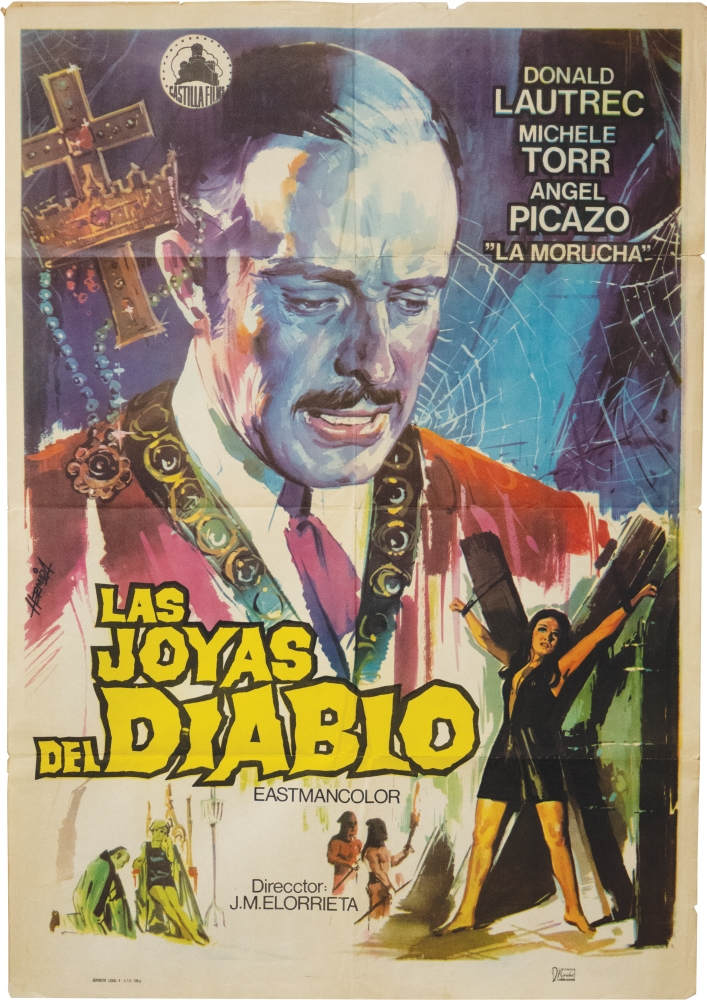 Collection of original posters for Spanish films, 1961-1976.